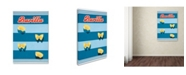 "Trademark Global Vintage Apple Collection 'Vintage Pasta' Canvas Art - 24"" x 16"" x 2"""