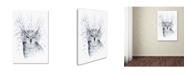 "Trademark Global JoJoesArt 'Owl' Canvas Art - 24"" x 16"" x 2"""