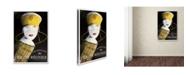 """Trademark Global Vintage Lavoie 'Spirits 22' Canvas Art - 19"""" x 12"""" x 2"""""""