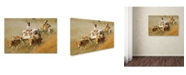 """Trademark Global Robert Harding Picture Library 'Characters' Canvas Art - 19"""" x 12"""" x 2"""""""