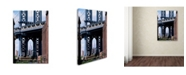 "Trademark Global Robert Harding Picture Library 'Blue Bridge' Canvas Art - 19"" x 12"" x 2"""