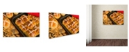 "Trademark Global Robert Harding Picture Library 'Buns' Canvas Art - 24"" x 16"" x 2"""