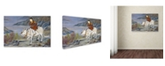 "Trademark Global Robert Harding Picture Library 'Children 21' Canvas Art - 47"" x 30"" x 2"""