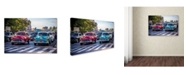 """Trademark Global Robert Harding Picture Library 'Classic Cars 1' Canvas Art - 32"""" x 22"""" x 2"""""""
