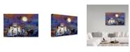 "Trademark Global RUNA 'Cats 1' Canvas Art - 32"" x 22"" x 2"""