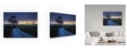 "Trademark Global Moises Levy 'Sur Gironde' Canvas Art - 24"" x 18"" x 2"""