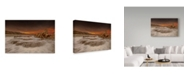 "Trademark Global Mikel Lastra 'Azkorri' Canvas Art - 32"" x 2"" x 22"""