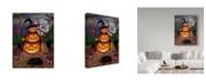 "Trademark Global Jake Hose 'Halloween Magic' Canvas Art - 24"" x 18"" x 2"""