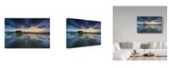 "Trademark Global Sarawut Intarob 'Light In Rice' Canvas Art - 24"" x 2"" x 16"""