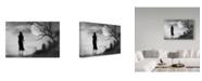 """Trademark Global Jay Satriani 'Lonely Gray' Canvas Art - 32"""" x 2"""" x 22"""""""