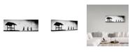 "Trademark Global Jay Satriani 'Back Home' Canvas Art - 32"" x 10"" x 2"""