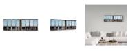 "Trademark Global Jef Flour 'Mannequin Challenge' Canvas Art - 24"" x 2"" x 8"""