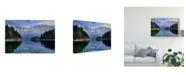 """Trademark Innovations Norbert Maier 'October Days' Canvas Art - 19"""" x 2"""" x 12"""""""