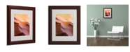 """Trademark Global Moises Levy 'Smooth III' Matted Framed Art - 11"""" x 14"""" x 0.5"""""""