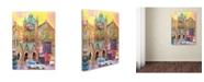 "Trademark Global Richard Wallich 'Boston 2' Canvas Art - 18"" x 24"" x 2"""
