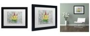 "Trademark Global Potman 'Legalized I Colorado' Matted Framed Art - 11"" x 14"" x 0.5"""