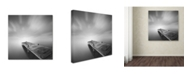 """Trademark Global Moises Levy 'Destiny IVb' Canvas Art - 35"""" x 35"""" x 2"""""""