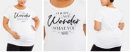 Motherhood Maternity Plus Size How We Wonder What You Are™ Plus Size Graphic Tee