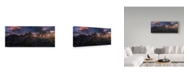 "Trademark Global David Martin Castan 'Tre Cime' Canvas Art - 19"" x 8"" x 2"""