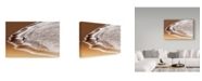 "Trademark Global Saeed Dhahi 'Enjoy Seawater' Canvas Art - 47"" x 30"" x 2"""