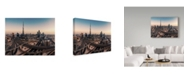 "Trademark Global Jean Claude Castor 'Dubai Skyline Panorama' Canvas Art - 24"" x 18"" x 2"""