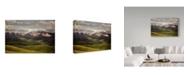 "Trademark Global James Yu 'Tibetan Plateau' Canvas Art - 47"" x 30"" x 2"""