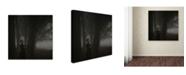 "Trademark Global David Dubnitskiy 'Thinking' Canvas Art - 35"" x 35"" x 2"""