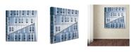 """Trademark Innovations Nir Blatt 'Crossing' Canvas Art - 18"""" x 18"""" x 2"""""""
