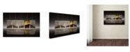 """Trademark Global Wieteke De Kogel 'Teascape' Canvas Art - 24"""" x 16"""" x 2"""""""