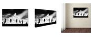 "Trademark Global Jay Satriani 'The Game High Jump' Canvas Art - 47"" x 30"" x 2"""