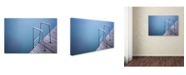 "Trademark Global Damiano Serra 'Stairs' Canvas Art - 32"" x 22"" x 2"""