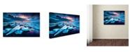 """Trademark Global David Martin Castan 'Badlands Iii' Canvas Art - 19"""" x 12"""" x 2"""""""