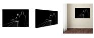 "Trademark Innovations Patrick Foto 'Night Road' Canvas Art - 19"" x 12"" x 2"""