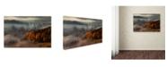 """Trademark Global Izabela Laszewska Mitrega 'At The Gates Of The Valley' Canvas Art - 47"""" x 30"""" x 2"""""""