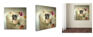 "Trademark Global Ddiarte 'The Bath' Canvas Art - 24"" x 24"" x 2"""