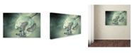 """Trademark Global Jimmy Hoffman 'Duet' Canvas Art - 32"""" x 22"""" x 2"""""""