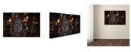 "Trademark Global Nick Kalathas 'As The Sun Goes Down' Canvas Art - 32"" x 22"" x 2"""