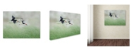 "Trademark Global Nick Kalathas 'Together' Canvas Art - 24"" x 18"" x 2"""