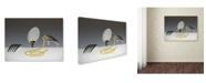 "Trademark Global Wieteke de Kogel 'And Now Eat' Canvas Art - 47"" x 35"" x 2"""