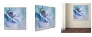 "Trademark Global Priska Wettstein 'Shades Of Blue' Canvas Art - 18"" x 18"" x 2"""