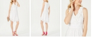 julia jordan Ruffle-Trim A-Line Dress