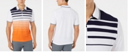 Club Room Men's Ombre Stripe Sport Polo, Created for Macy's
