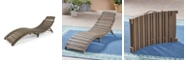 Noble House Lahaina Outdoor Chaise