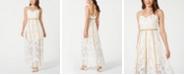 foxiedox Lace Eyelash-Trim Gown