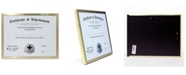 """Lawrence Frames Gold Aluminium Picture Frame - 8.5"""" x 11"""""""