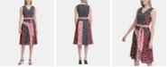 Calvin Klein Sleeveless Printed A-Line Dress