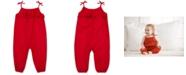 Polo Ralph Lauren Baby Girls Eyelet-Overlay Cotton Romper