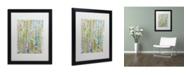 """Trademark Global Sylvie Demers 'Air du Temps 1' Matted Framed Art - 16"""" x 20"""" x 0.5"""""""