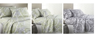 Southshore Fine Linens Classic Paisley Ultra-Soft 4-Piece Sheet Set