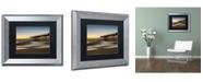 """Trademark Global PIPA Fine Art 'Motion of the Ocean' Matted Framed Art - 11"""" x 14"""""""